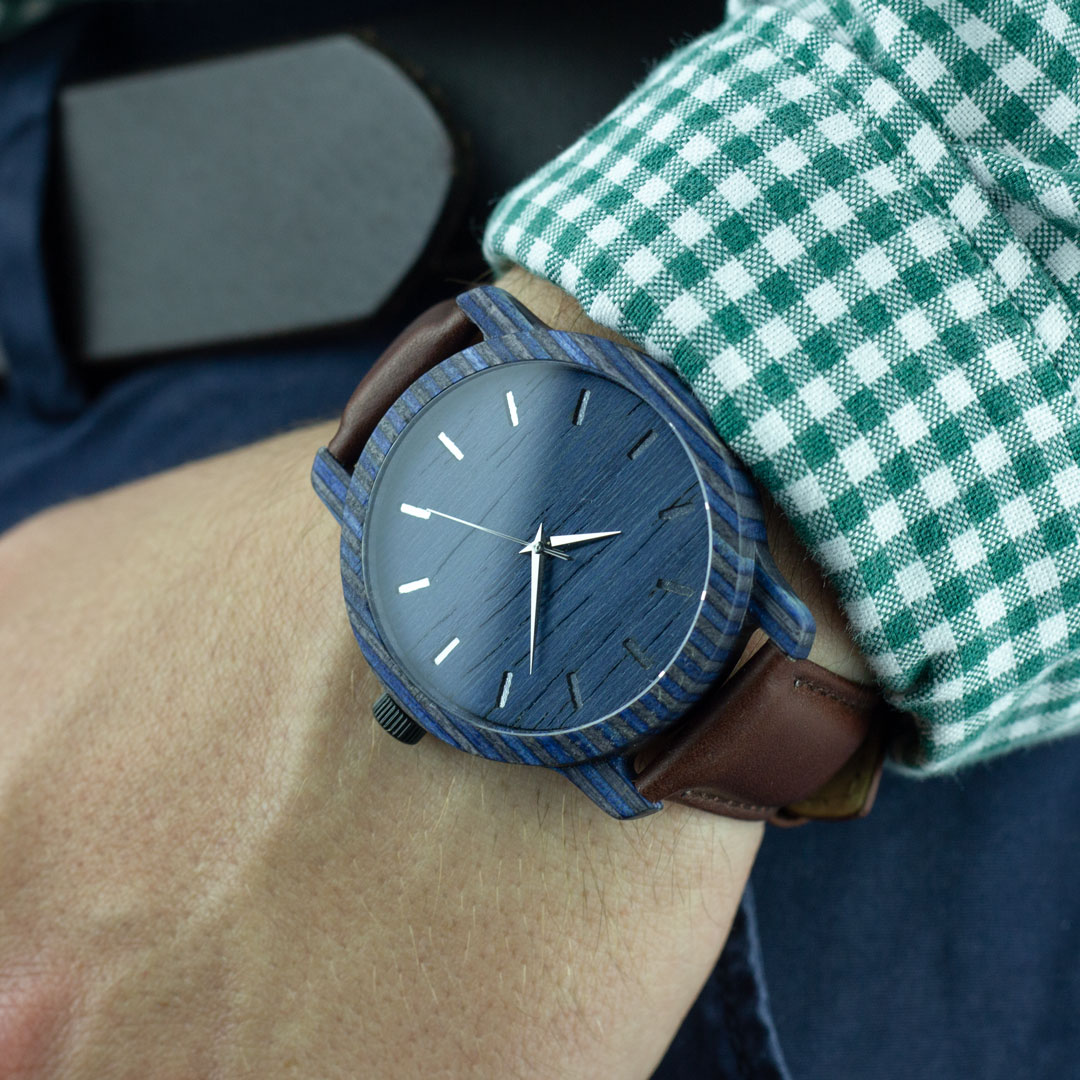 """Деревянные часы """"Norton   Classic"""""""