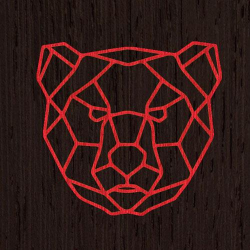 Красный | Фон из венге