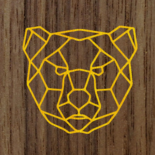 Желтый | Фон из ореха