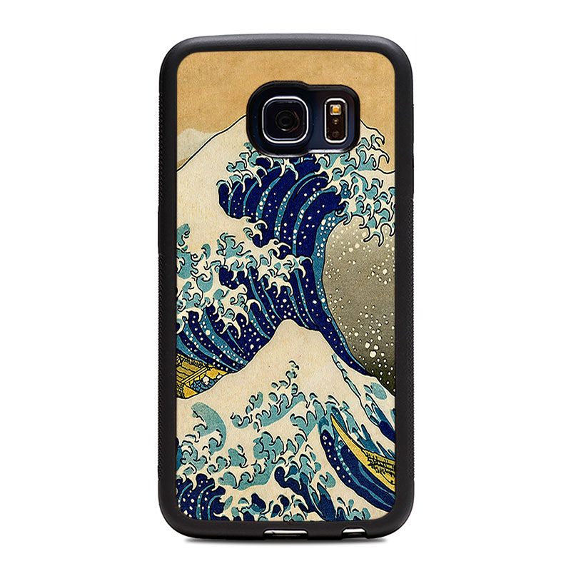 "Чехол ""Deep"" - Big Wave (S6/S6 Edge)"