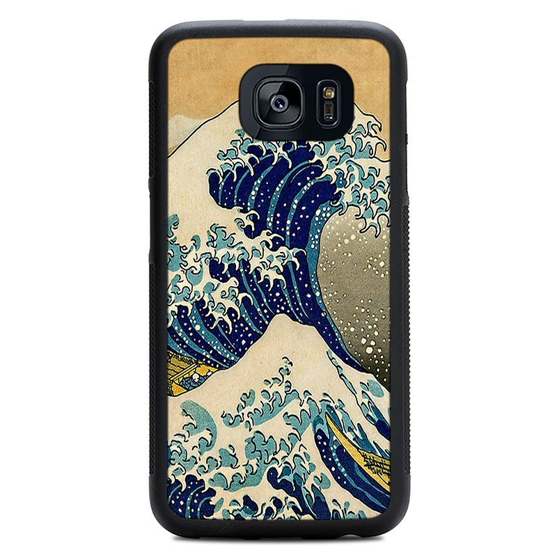 "Чехол ""Deep"" - Big Wave (S7/S7 Edge)"