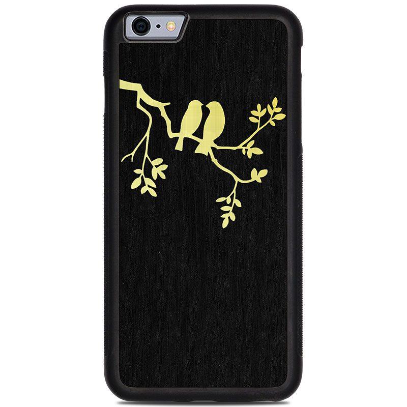 "Чехол ""Deep"" - Birds | Oak (6 Plus/6s Plus)"