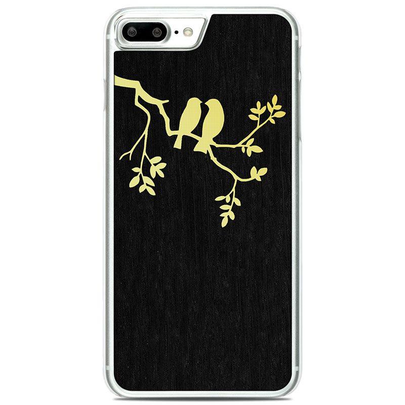 "Чехол ""Soft"" - Birds | Oak (7 Plus/8 Plus)"