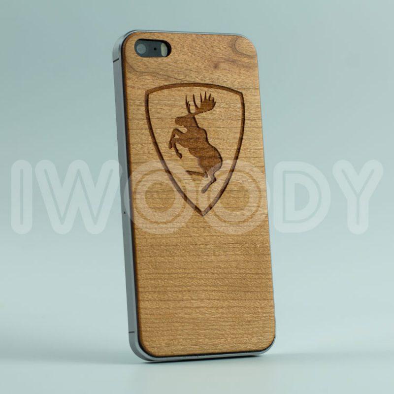 Деревянная накладка Elk | Cherry