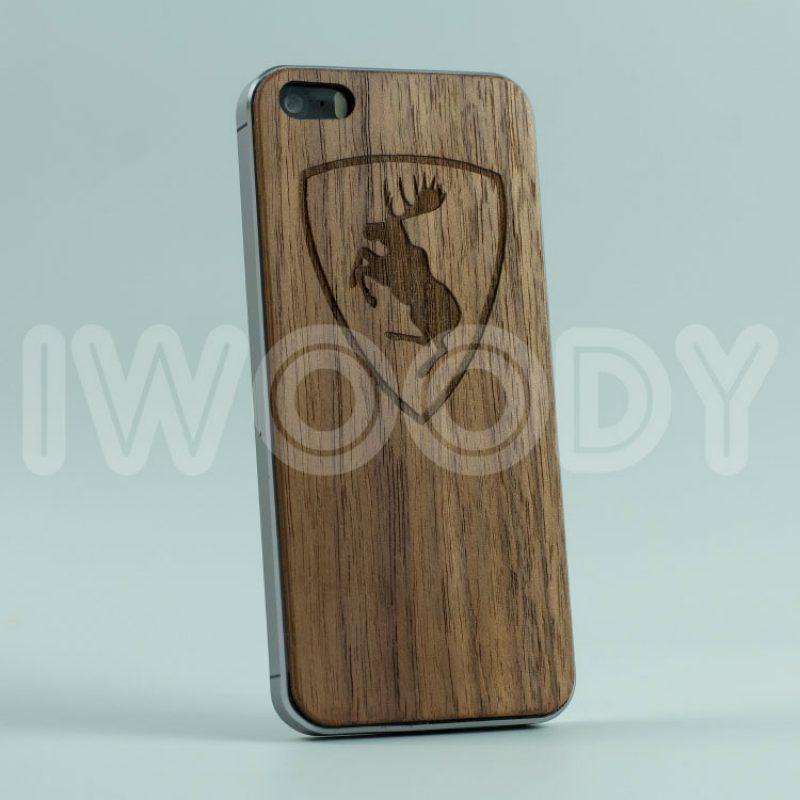 Деревянная накладка Elk | Nut F