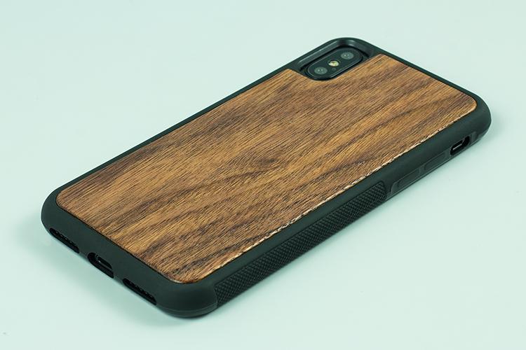 Черный силиконовый чехол для iPhone X