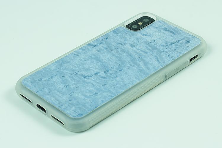 Полупрозрачный силиконовый чехол для iPhone X