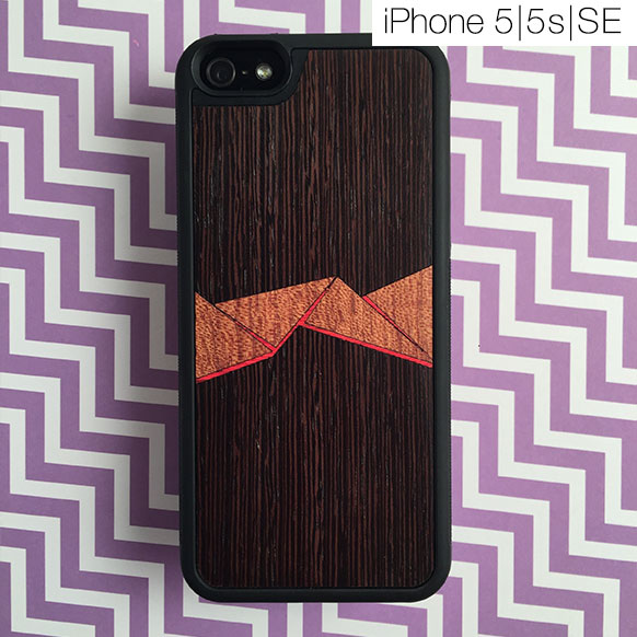 Чехлы c деревянной вставкой для iPhone 5/5s и SE