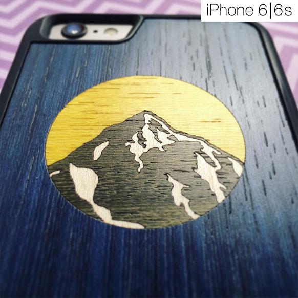 Чехлы c деревянной вставкой для iPhone 6/6s