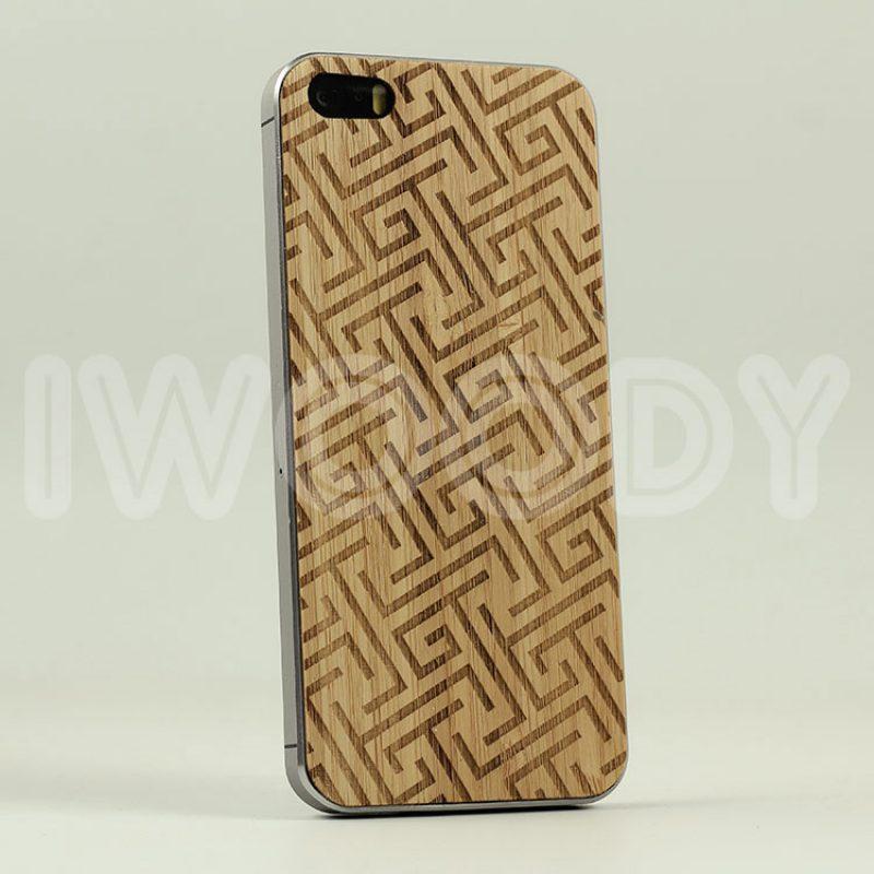 Деревянная накладка Labirintus | Bamboo