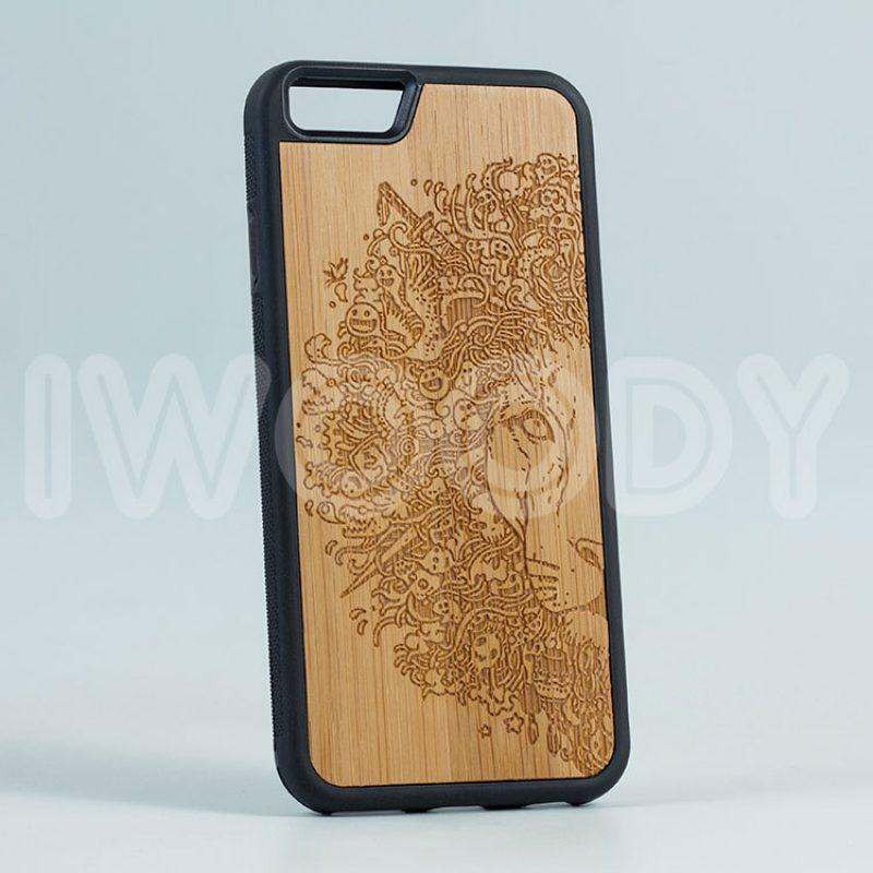 "Чехол ""Deep"" - Lion | Bamboo"