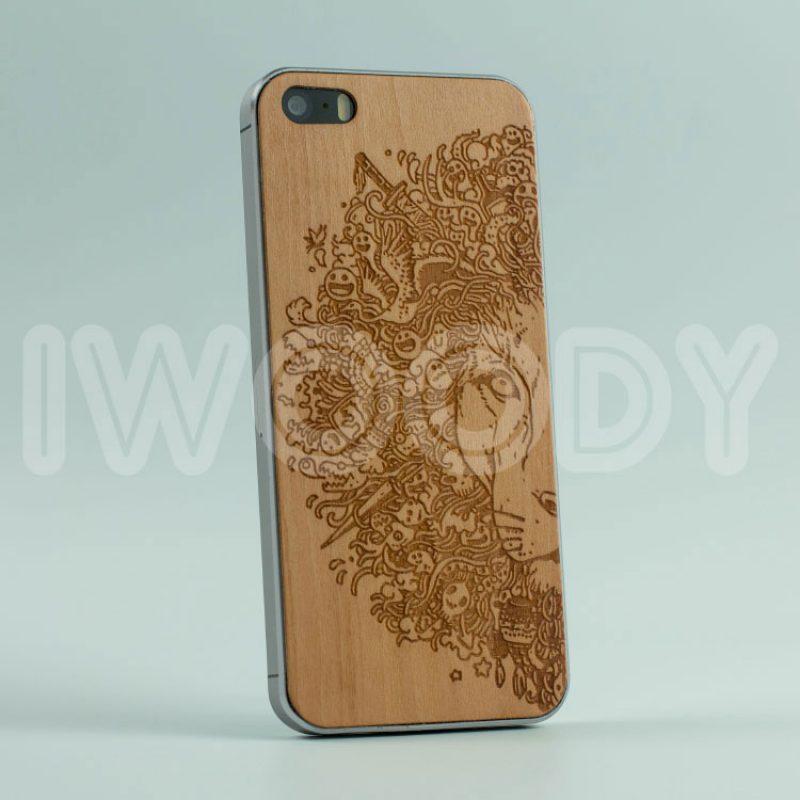 Деревянная накладка Lion | Bamboo