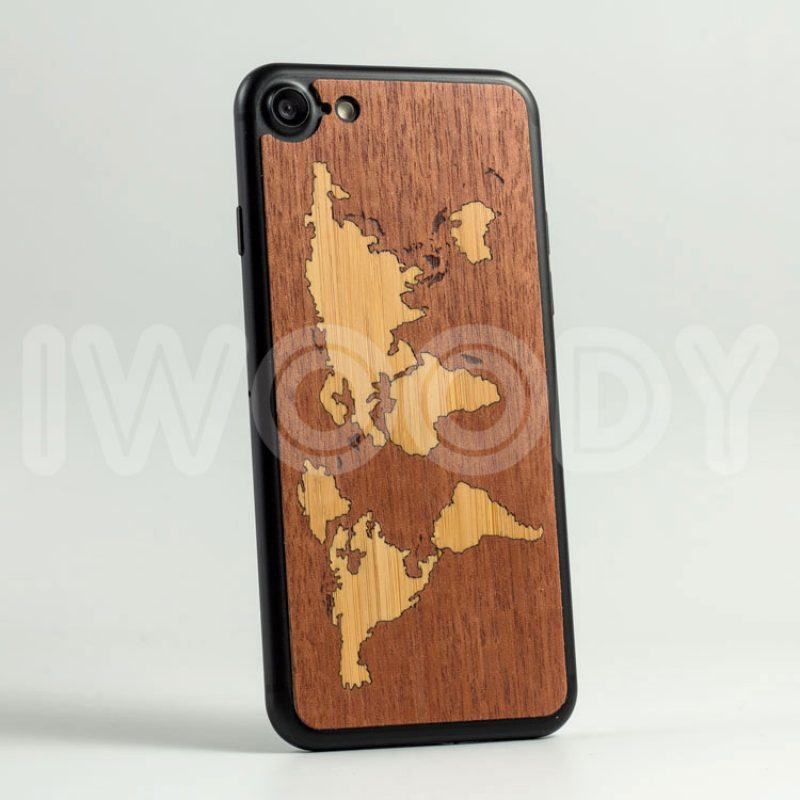 Деревянная накладка - World Map | Makore