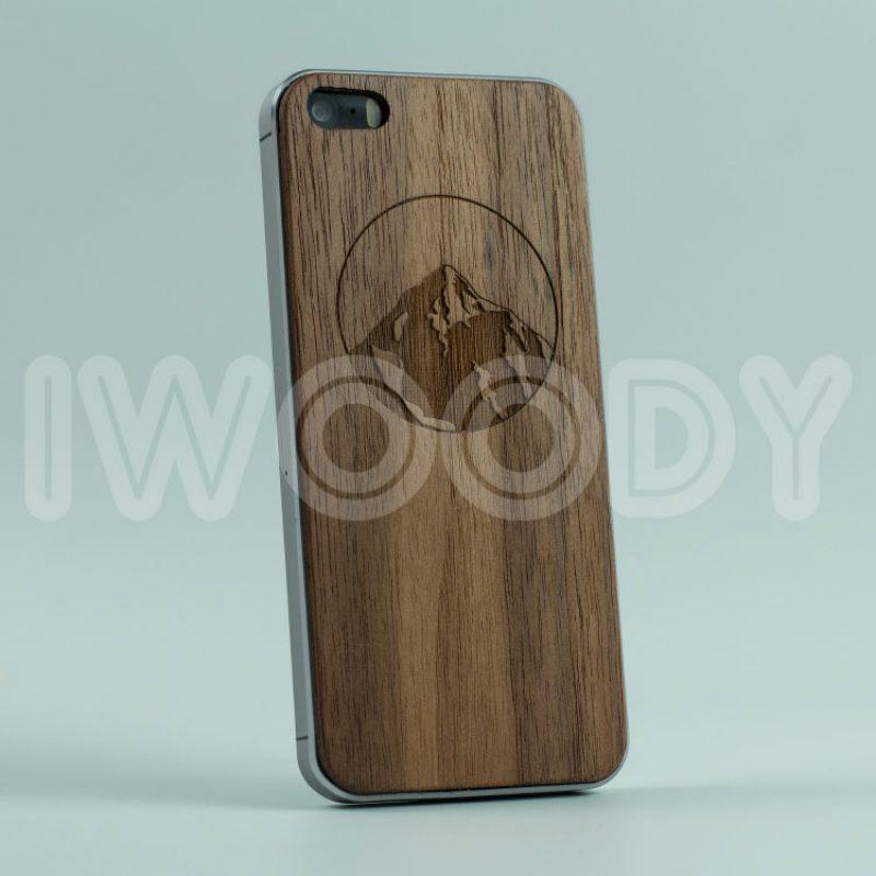 Деревянная накладка Mountain | Nut F