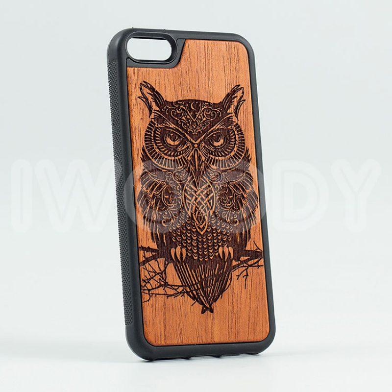 "Чехол ""Deep"" - Owl | Mahogany"