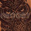 Owl | Mahogany