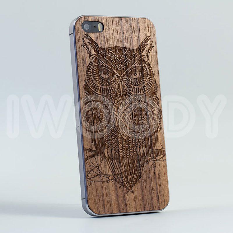 Деревянная накладка Owl | Nut
