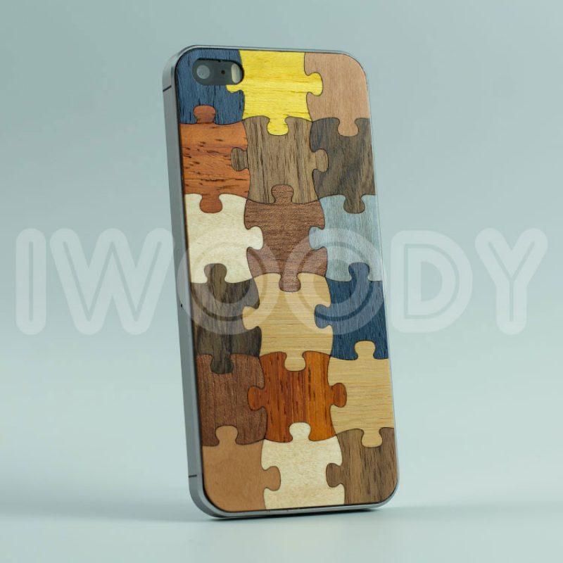 Деревянная накладка Puzzle 1.0