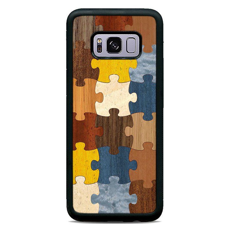 """Чехол """"Deep"""" - Puzzle 1.0 (S8/S8 Plus)"""