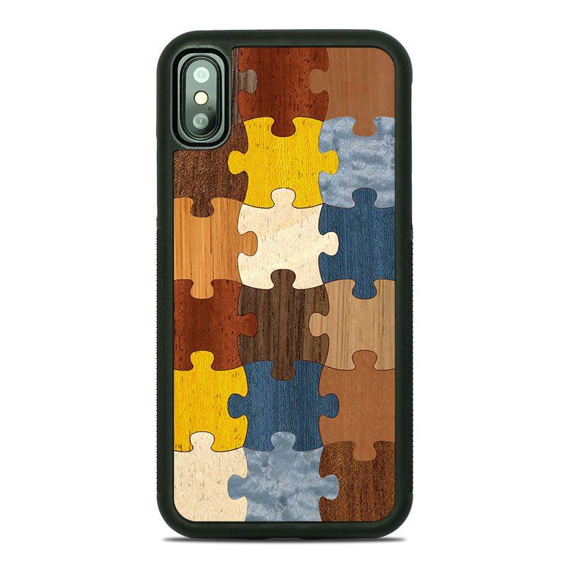 """Чехол """"Deep"""" - Puzzle 1.0 (X)"""