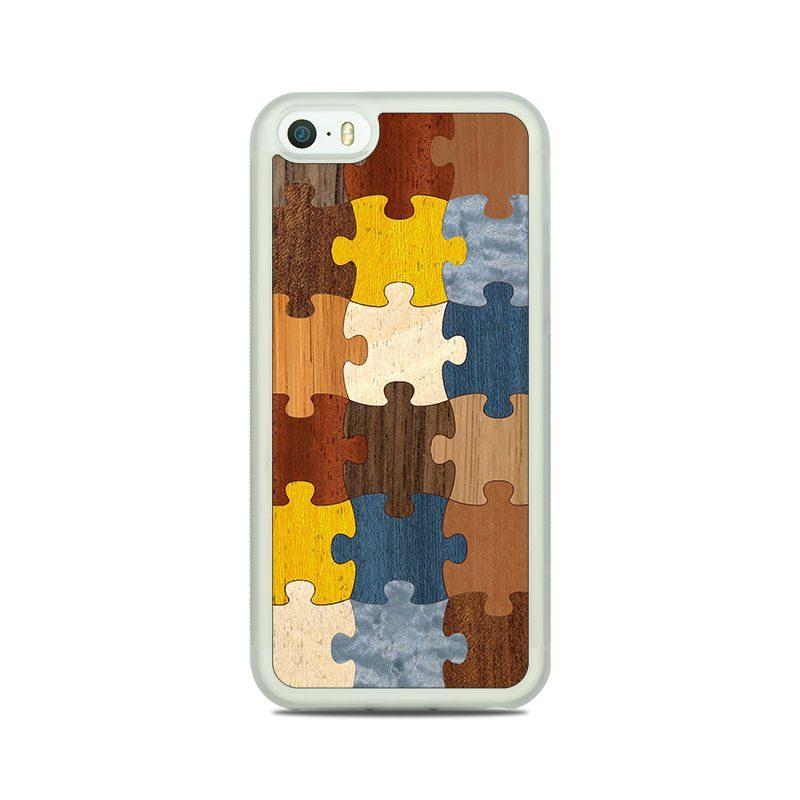 "Чехол ""Soft"" - Puzzle 1.0 (5/5s/SE)"