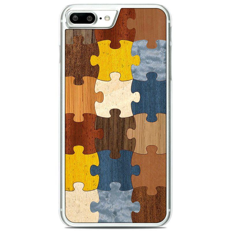 """Чехол """"Soft"""" - Puzzle 1.0 (7 Plus/8 Plus)"""