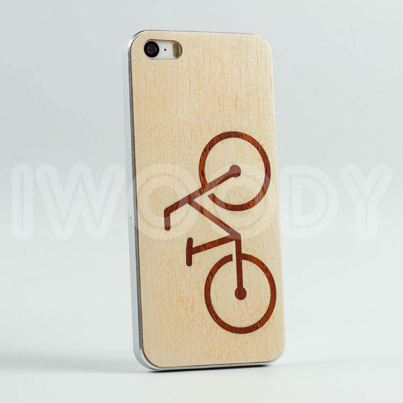 Деревянная накладка - Rasta bike
