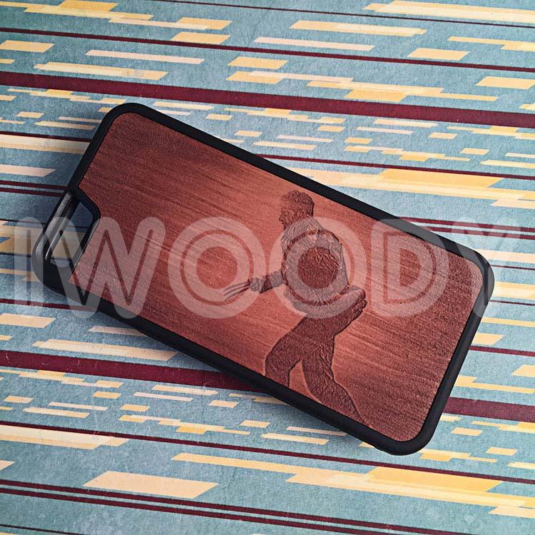 """Чехлы серии """"Deep"""" на iPhone 6/6s с гравировкой на груше"""