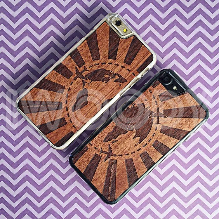 """Чехлы серии """"Soft"""" на iPhone 6/6s и 7 с гравировкой на макоре"""