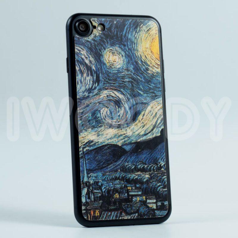 Деревянная накладка Starry Night (7)