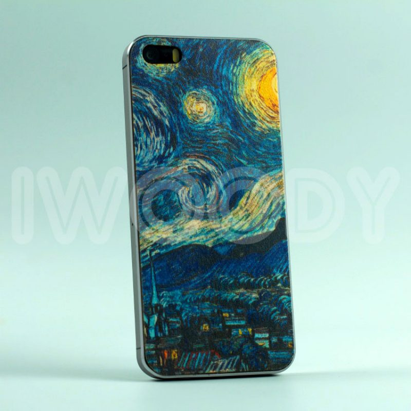 Деревянная накладка Starry night