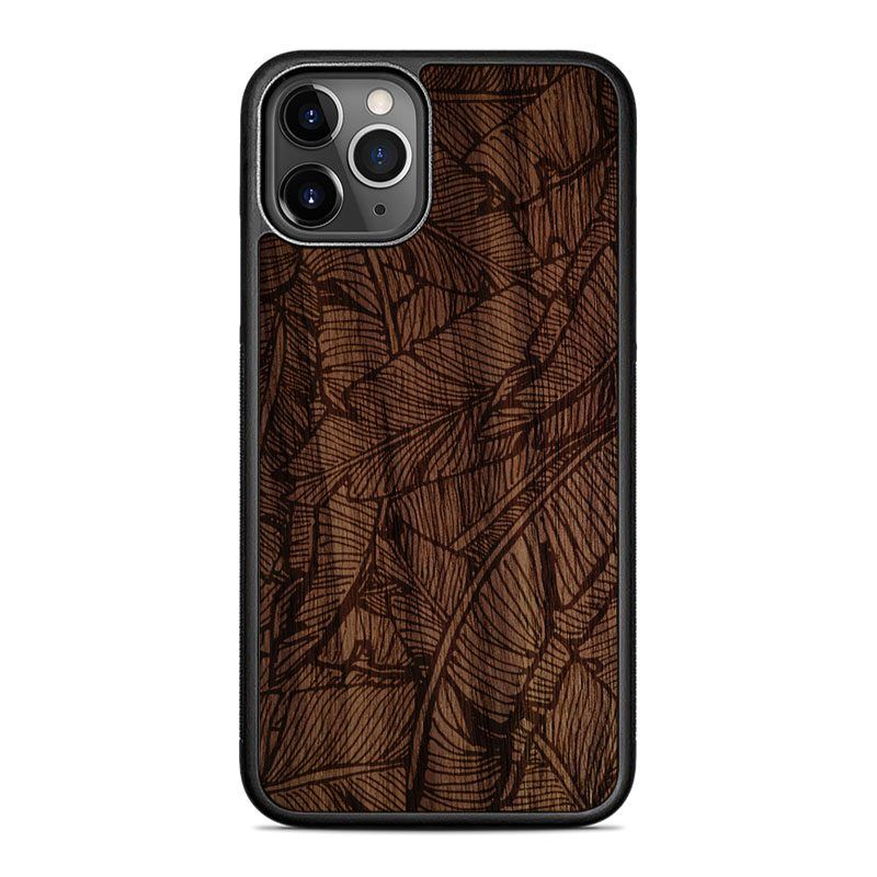 "Чехол ""Tropical | Walnut"" для iPhone 11 Pro"